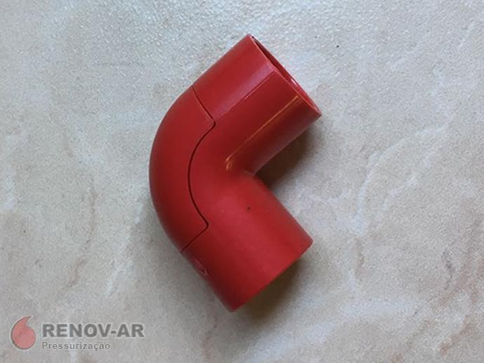 Joelho PVC s/ rosca 1/2 cm